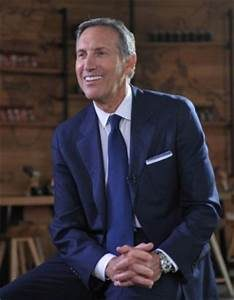 Howard Schultz May Run For Prez! Please Stick To Selling Books.. Please!!