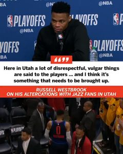 Adam Silver Needs To Do Something About Utah Jazz Fans/Westbrook Treatment