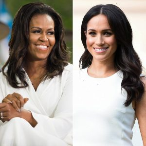 Former First Lady Michelle Obama Says Meghan Markle Is A Inspiration In A Recent Instagram Post