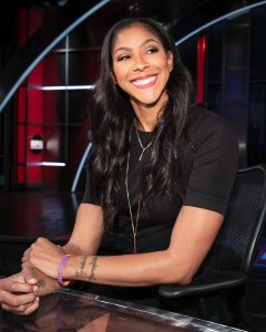 Candace Parker Is A Star On The Basketball Court And Is Becoming A Star In Broadcasting Too!