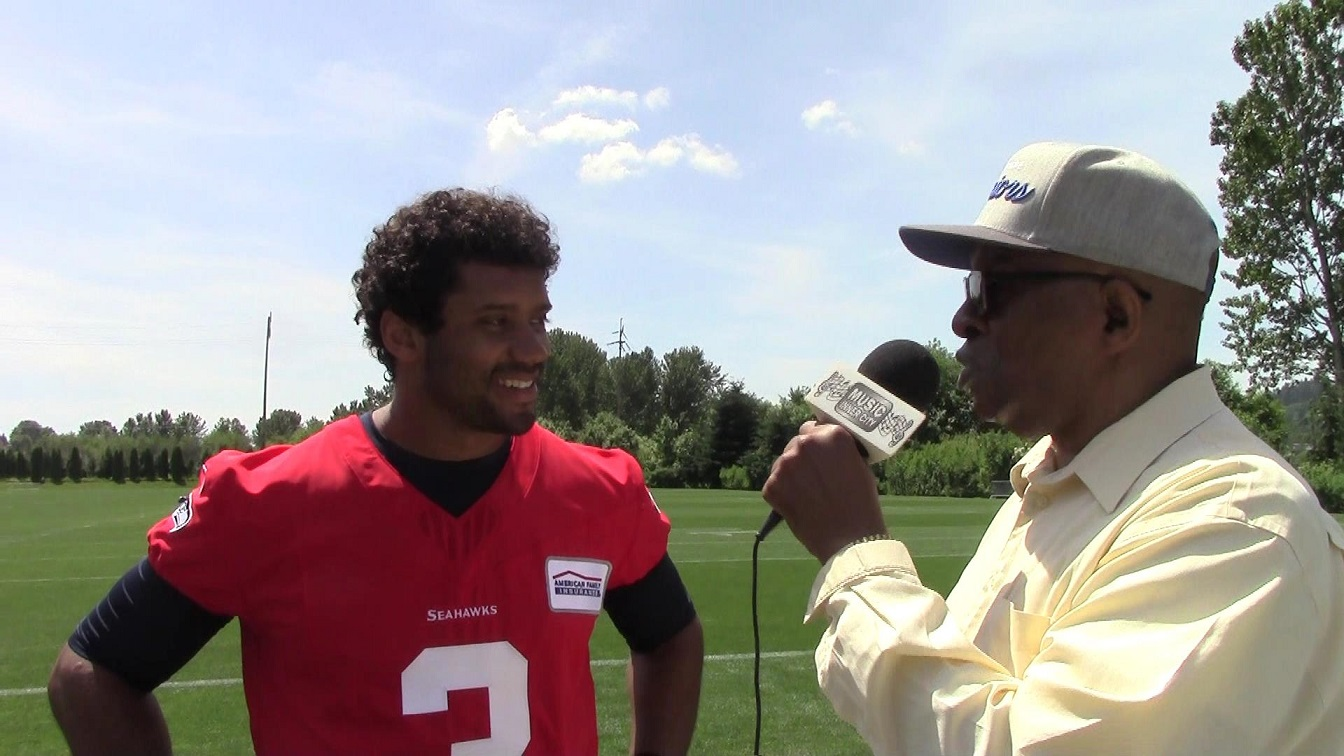 Music Inner City TV Webcast: Guest/EXCLUSIVE One On One Interview With Seahawks QB Russell Wilson!