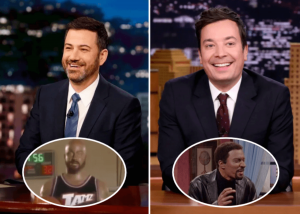 "Why Wasn't ""Tonight Show"" Host Jimmy Fallon And Jimmy Kimmel Fired For Doing Blackface Skits On Their Programs?"