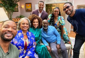 "Will Smith Joins His ""Fresh Prince Of Bel-Air"" Crew For A Long Awaited Reunion"
