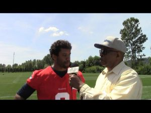 "So Far In The National Football League The MVP Is Former Guest On ""M.I.C-TV"" Russell Wilson!"